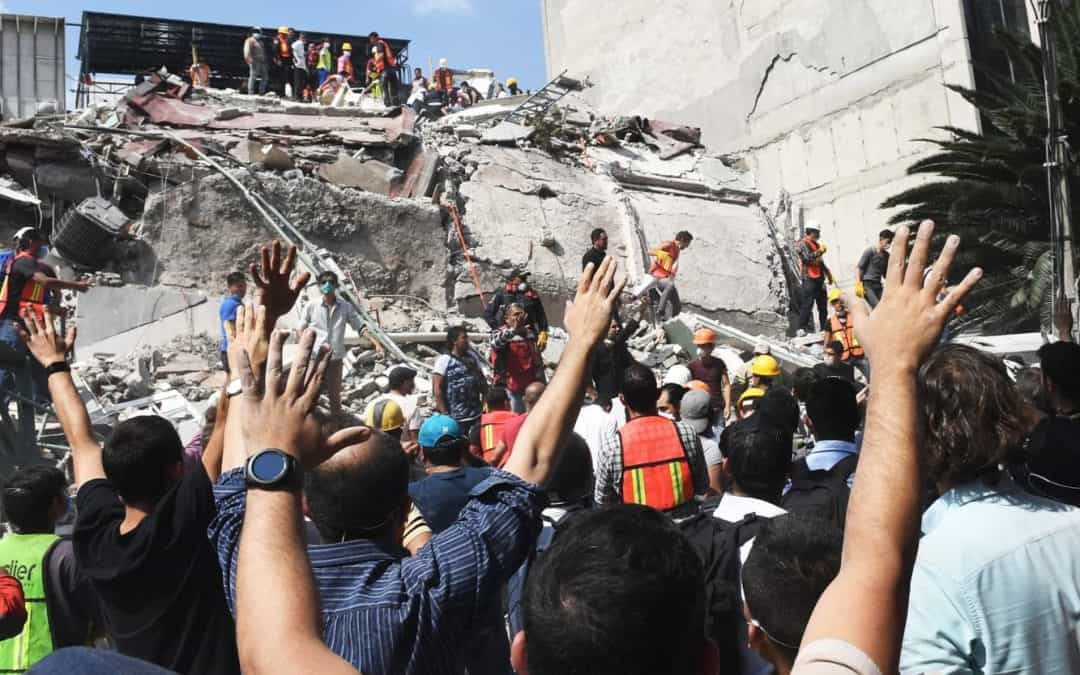 UPDATE: Earthquake relief in Mexico