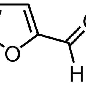 Furfural's chemical structure