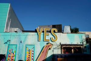 Outside House of Yes