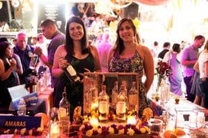 The Mezcal Amaras table