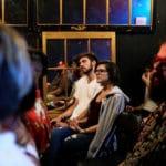 Attendees at the Raicilla talk