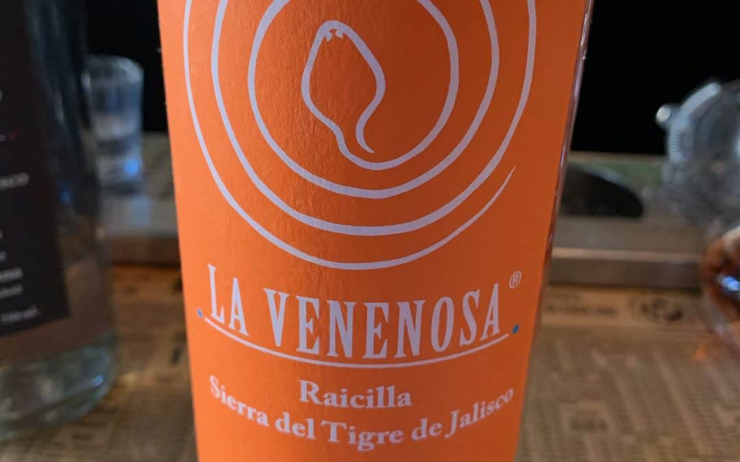 Raicilla Venenosa Sierra del Tigre de Jalisco tasting notes