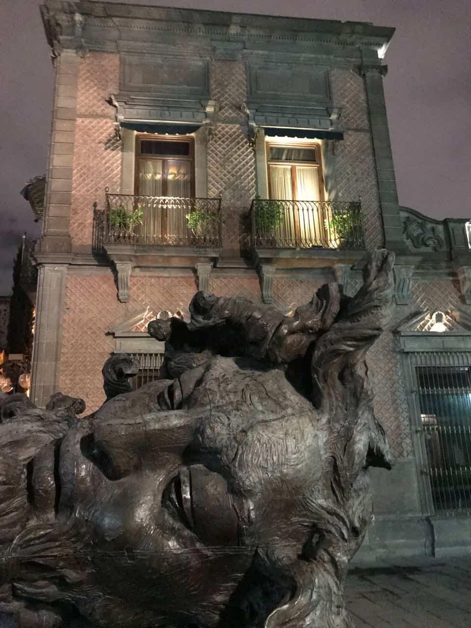 San Luis Potosi at night